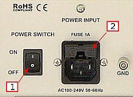 CS-3A 电源线接口