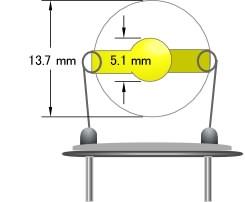 金盘石英晶振片