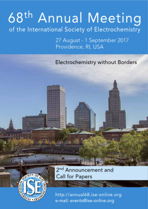 The Hague,国际电化学协会ISE第68届年会