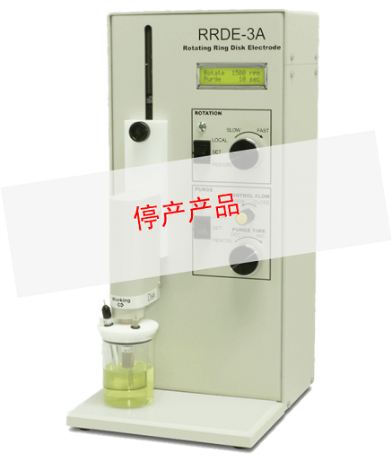 RRDE-3A Rotating Ring Disk Electrode Apparatus Ver.2.0