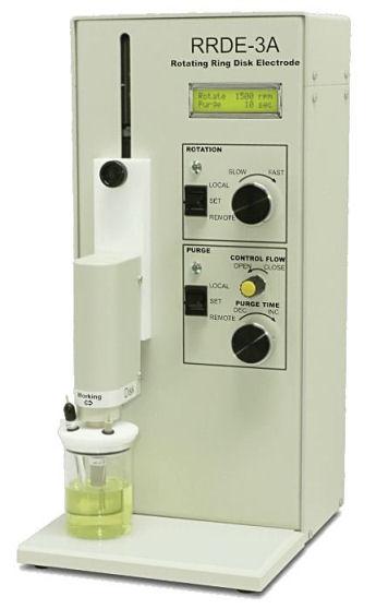 RRDE-3A 旋转环盘电极仪 Ver2.0