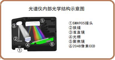 SEC2021光谱仪的光学结构