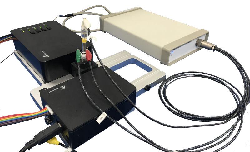SEC2020 光谱仪系统 和Model 2325 双恒电位仪