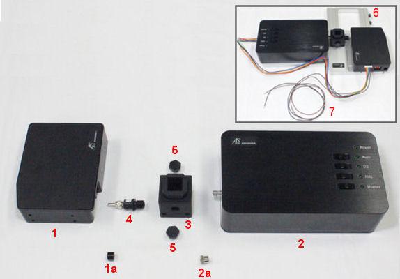图1 光谱仪系统各部件