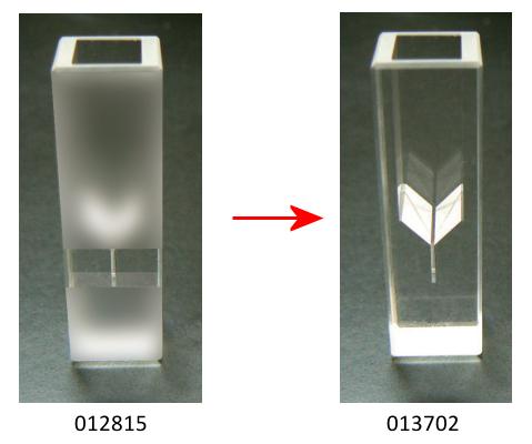 SEC-C05T Thin Layer Quartz Glass cell