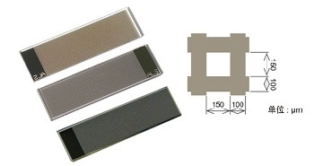 图3-6 ALS薄膜栅格电极