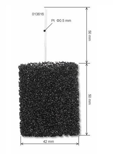 多孔碳电极