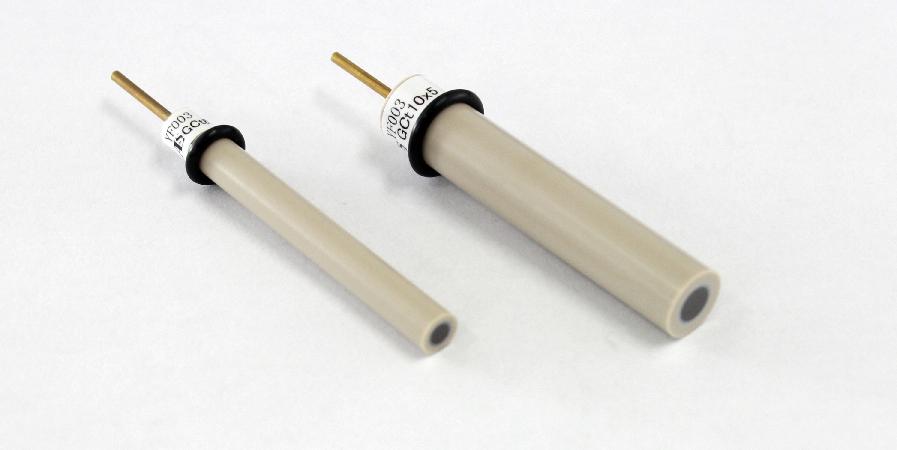 特氟龙隔离环嵌入型玻碳电极。